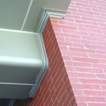 Readily bent, cut, mitered, and joined in the field, Seismic Colorseal makes continuity of seal in similar or dissimilar substrates possible and practical