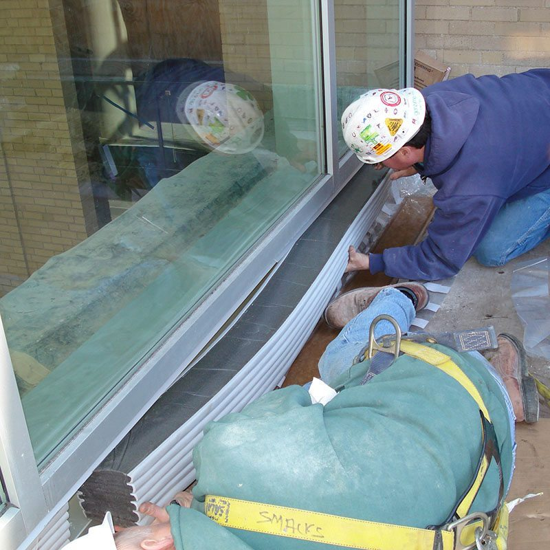 Emseal At Curtain Wall : Seismic colorseal ds double faced curtainwall expansion