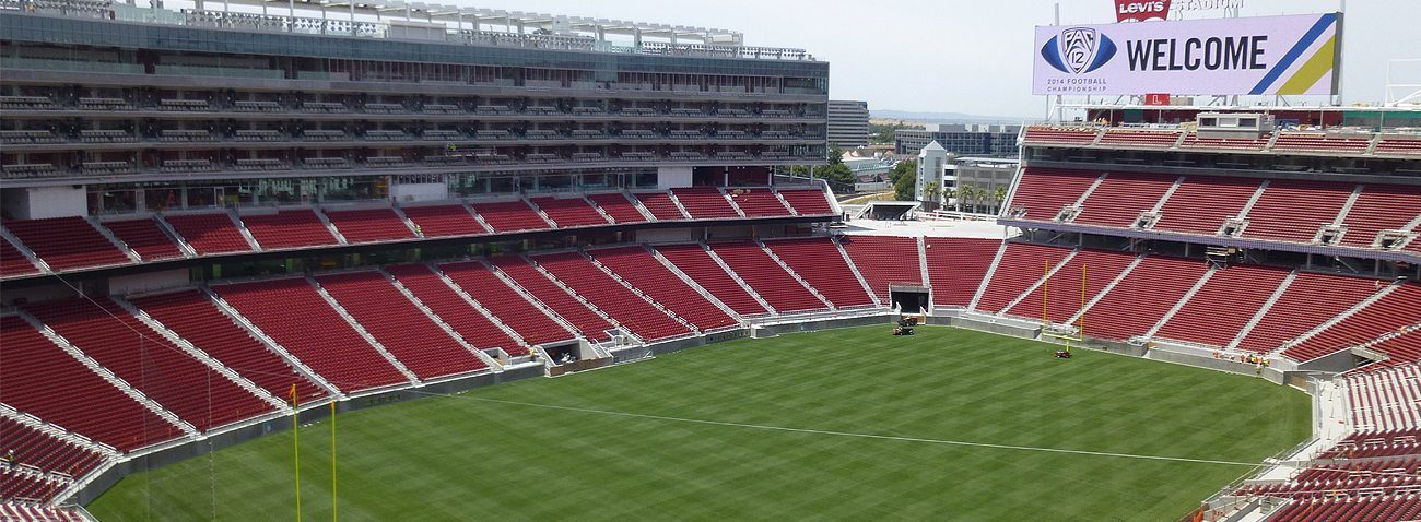 Expansion joints 49ers Levis Stadium EMSEAL SJS SJS-FR Seismic Colorseal