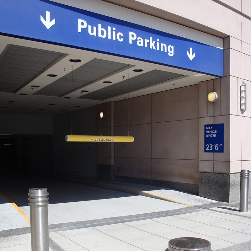 Prudential center garage