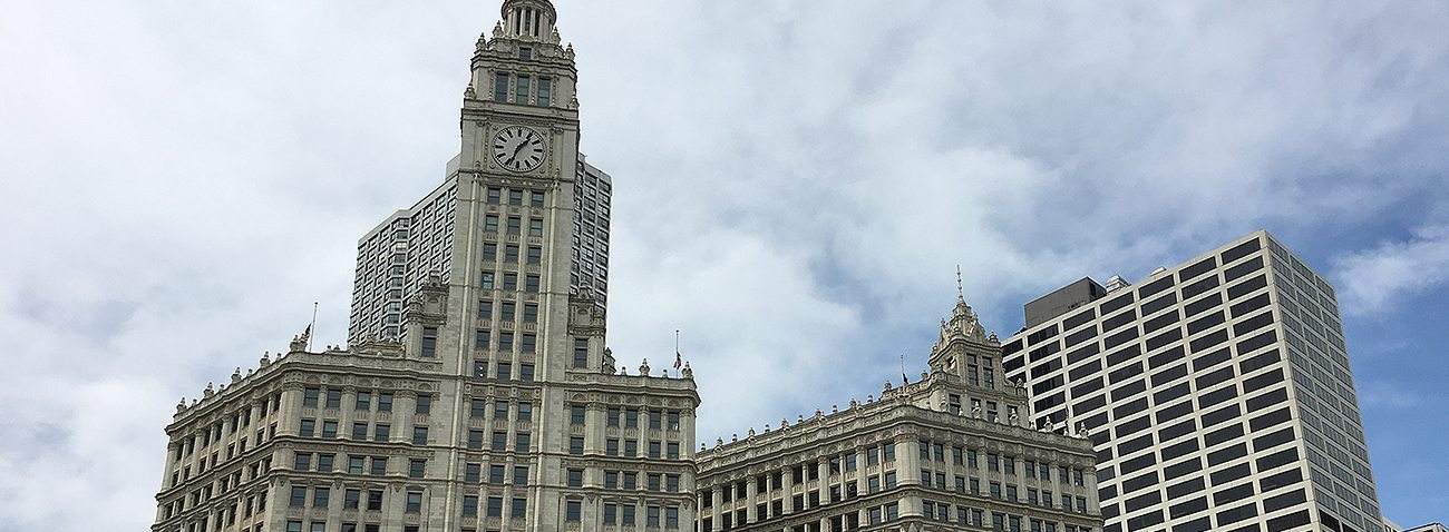 Wrigley Building Chicago IL MIGUTAN in plaza deck expansion joints EMSEAL