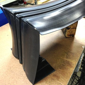 Roof Expansion Joint Termination over roof edge RoofJoint from EMSEAL