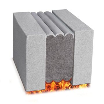 Fire rated expansion joint Emshield DFR3 from EMSEAL