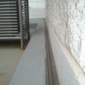 COH Horizontal Colorseal Deck to Wall MD Annapolis Mall EMSEAL