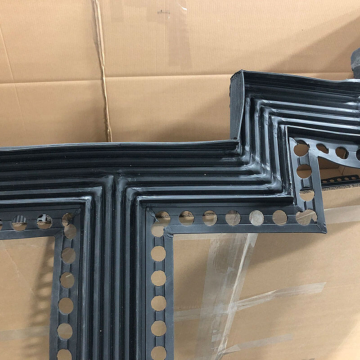 Parking deck expansion joint transitions. Thermaflex from Emseal